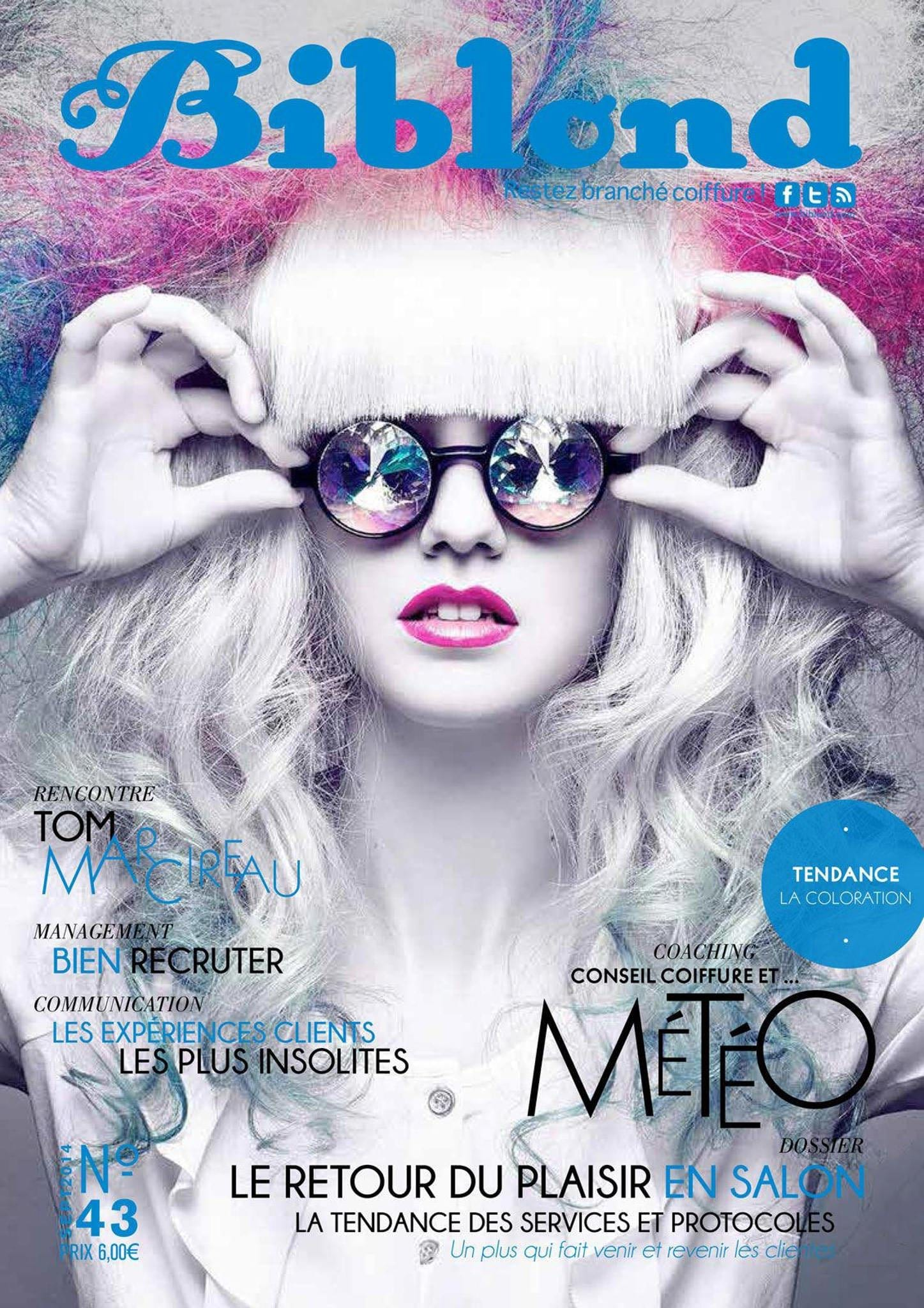 cover for french hair magazine